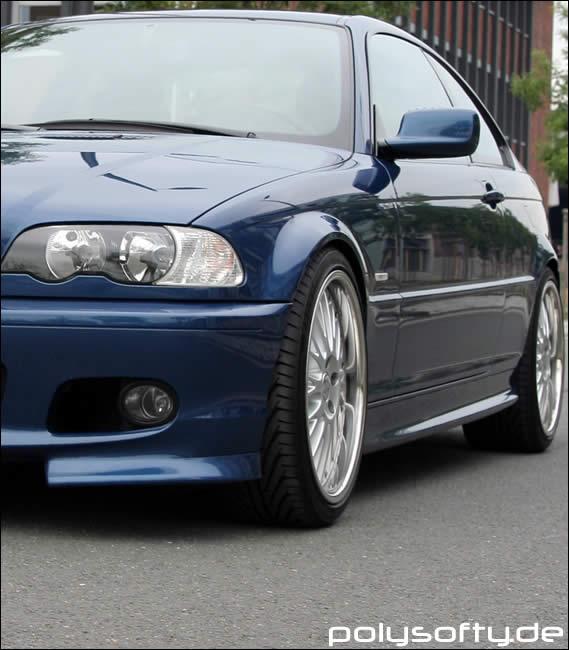 ridin around with new plates - 3er BMW - E46 -