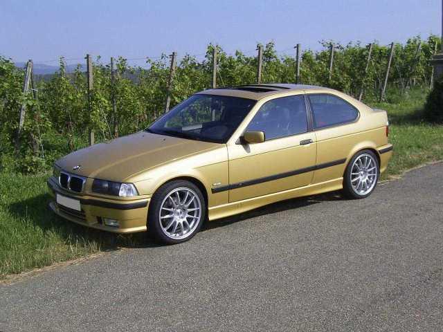 Kelleners-323ti, Sperre, Leichtbauräder, versteift - 3er BMW - E36