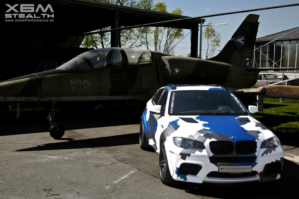 X6M - Coupe (SAC) - 700 PS V8 Twin-Turbo (STEALTH) - BMW X1, X2, X3, X4, X5, X6, X7