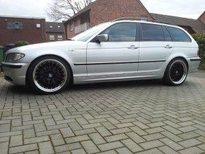 - NoName/Ebay - CSW2 Felge in 8.5x19 ET 35 mit Nankang NS2 Ultra Reifen in 235/35/19 montiert hinten Hier auf einem 3er BMW E46 325i (Touring) Details zum Fahrzeug / Besitzer