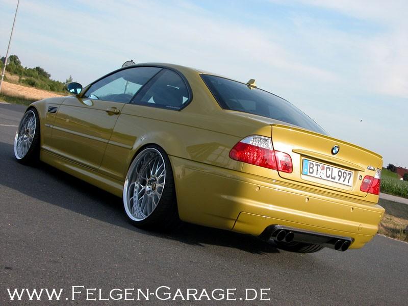M3 E46 mit BBS und WORK - 3er BMW - E46
