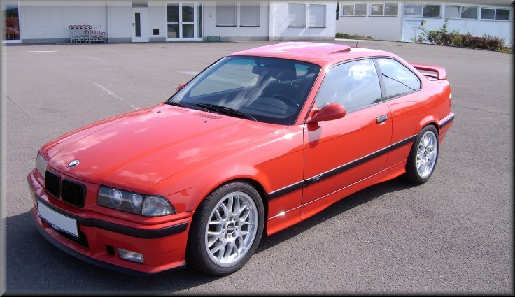 Olly´s ex 318is Coupé - 3er BMW - E36