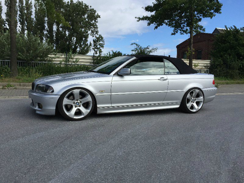 330ci cabrio mit x5 felgen 3er bmw e46 cabrio. Black Bedroom Furniture Sets. Home Design Ideas