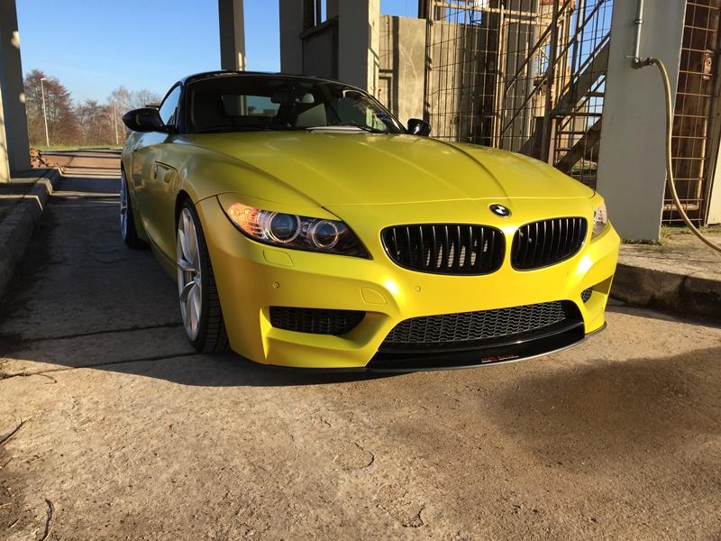 Z4 E89 In Austin Yellow Matt Bmw Z1 Z3 Z4 Z8 Quot Z4