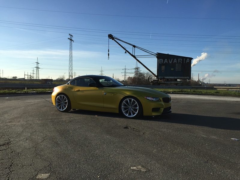 Z4 E89 In Austin Yellow Matt Bmw Z1 Z3 Z4 Z8 Quot Z4