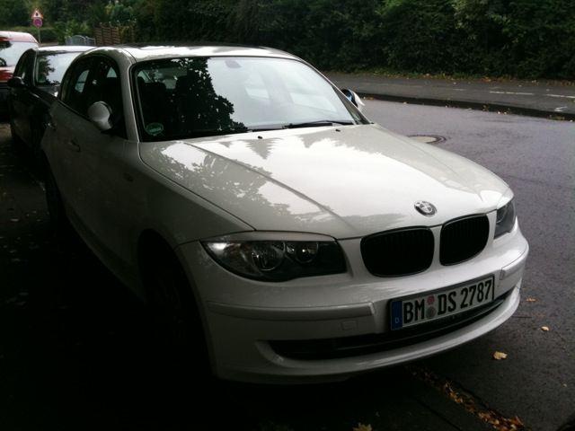 MyWhiteBabe e87 120d - 1er BMW - E81 / E82 / E87 / E88