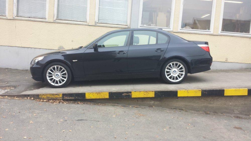 """BMW 525i / 19"""" RH Phönix / Blau Matt / Individual - 5er BMW - E60 / E61"""