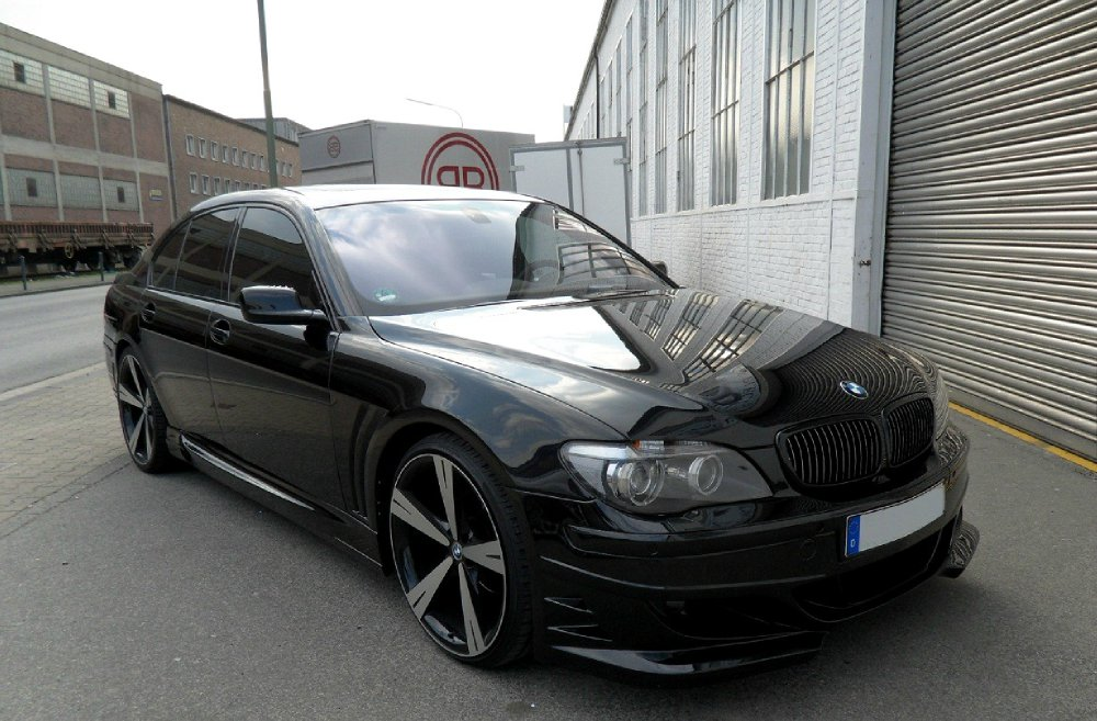 bmw 745d e65 mit bodykit umbau individual fotostories weiterer bmw modelle 7er bmw e65. Black Bedroom Furniture Sets. Home Design Ideas