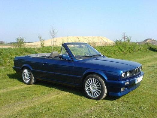 bmw e30 318i cabrio 3 r 3er bmw e30 cabrio tuning fotos bilder stories. Black Bedroom Furniture Sets. Home Design Ideas