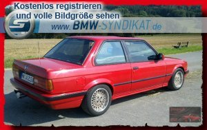 red one 3er bmw e30 storyseite 2 2 t rer. Black Bedroom Furniture Sets. Home Design Ideas