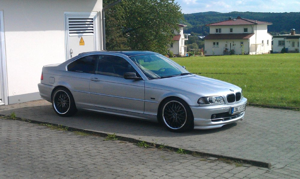 e46 320 ci titansilber 3er bmw e46 coupe tuning fotos bilder stories. Black Bedroom Furniture Sets. Home Design Ideas
