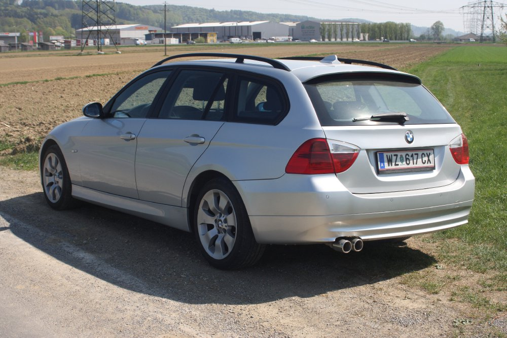 Orginaler E91 in Silber - 3er BMW - E90 / E91 / E92 / E93