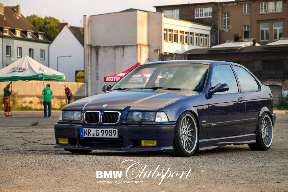 Die etwas andere Fotostory - 316i Compact goes M52 - 3er BMW - E36