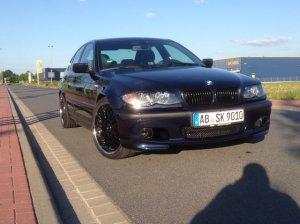 - NoName/Ebay - GTR Felge in 8.5x19 ET 35 mit Falken FK453 Reifen in 225/35/19 montiert vorn Hier auf einem 3er BMW E46 320i (Limousine) Details zum Fahrzeug / Besitzer