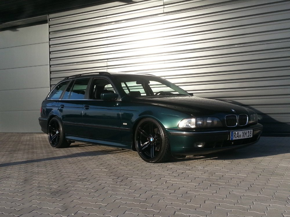 mein e39 auf m6 felgen 5er bmw e39 touring. Black Bedroom Furniture Sets. Home Design Ideas