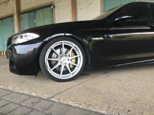 Z-Performance ZP08 Felge in 8.5x20 ET 30 mit Michelin Pilot Super Sport Reifen in 245/35/20 montiert vorn mit 5 mm Spurplatten Hier auf einem 5er BMW F11 530d (Touring) Details zum Fahrzeug / Besitzer