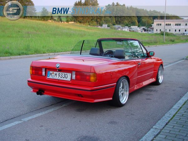 bmw m3 e30 cabrio 3er bmw e30 m3 tuning fotos. Black Bedroom Furniture Sets. Home Design Ideas