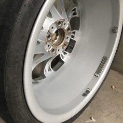 BBS BMW M166 Felge in 9x19 ET 17 mit Hankook Ventus S1 Evo2 K117 Reifen in 245/35/19 montiert vorn Hier auf einem 5er BMW E39 535i (Limousine) Details zum Fahrzeug / Besitzer