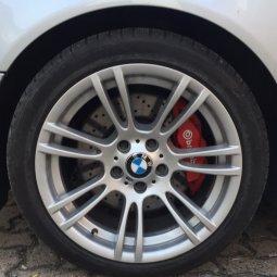 BMW BMW M270 E90 M3 Felge in 8x18 ET 20 mit Michelin Michelin Alpin 3 Reifen in 235/40/18 montiert hinten Hier auf einem 5er BMW E39 535i (Limousine) Details zum Fahrzeug / Besitzer