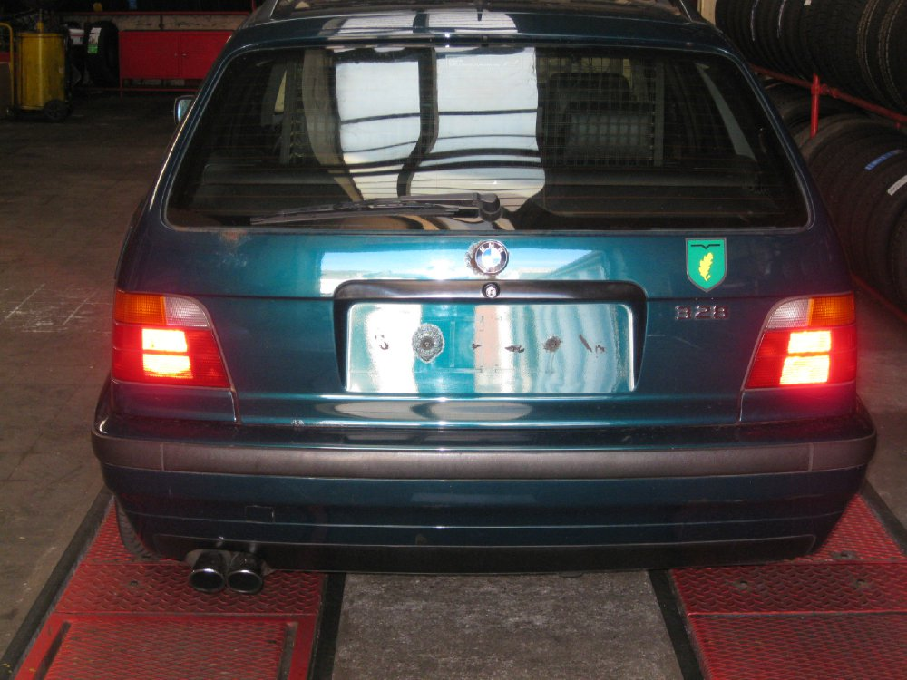 Mein Familienfreundlicher zwo achter - 3er BMW - E36