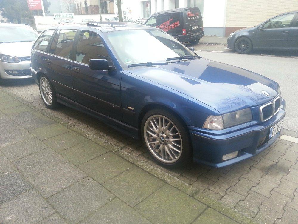 Avusblauer 320i Sport Edition - 3er BMW - E36