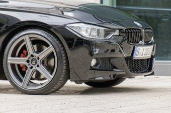 MB Design KV1 Felge in 8.5x19 ET 35 mit Michelin Pilot sport 4 Reifen in 225/40/19 montiert vorn Hier auf einem 3er BMW F31 330d (Touring) Details zum Fahrzeug / Besitzer