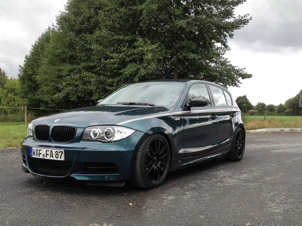 120d Tahitigrün@220PS/450NM@QP M-Front - 1er BMW - E81 / E82 / E87 / E88