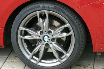 BMW M Performance m 436 Felge in 8x18 ET 35 mit Continental  Reifen in 245/35/18 montiert hinten Hier auf einem 2er BMW F22 220i (Coupe) Details zum Fahrzeug / Besitzer
