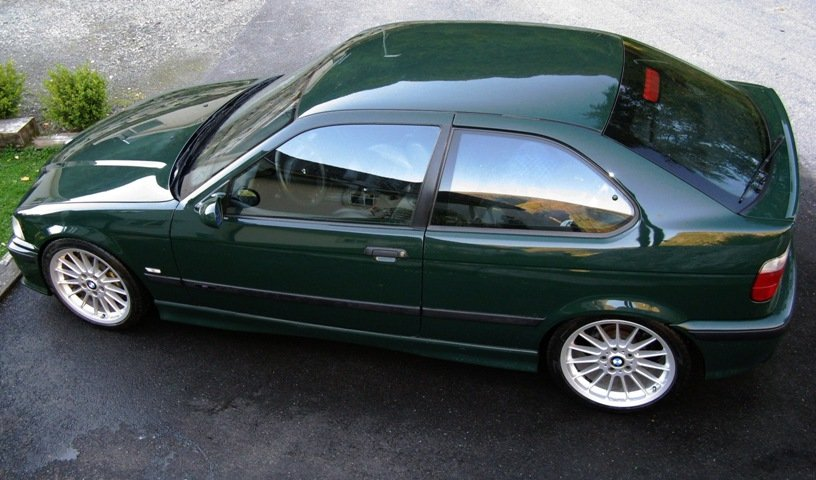 British Racing Green 323ti 3er Bmw E36 Quot Compact Quot Tuning Fotos Bilder Stories