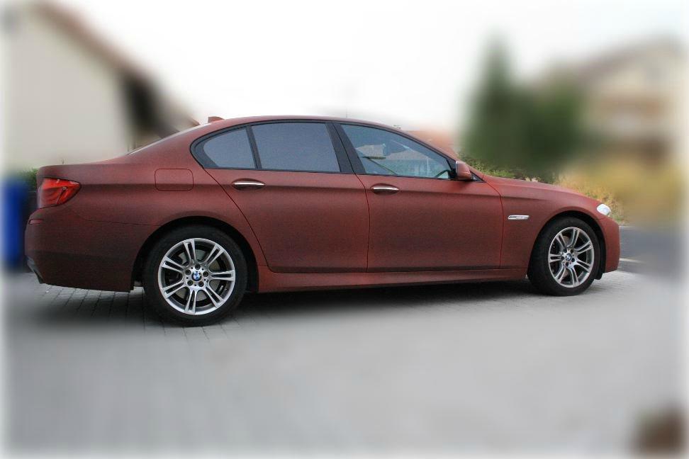 535i M-Paket mit PlastiDip überzogen - 5er BMW - F10 / F11 / F07