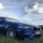 BMW-Syndikat Fotostory - F10 m5 21 Zoll Hamann Monte Carlo Blue