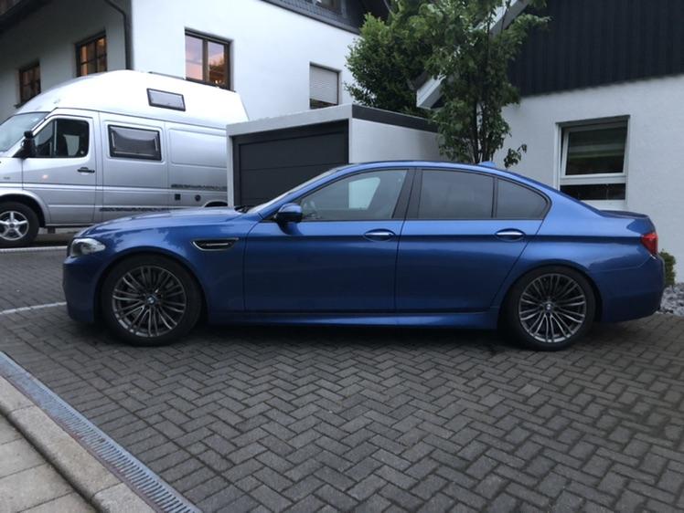 F10 m5 21 Zoll Hamann Monte Carlo Blue - 5er BMW - F10 / F11 / F07