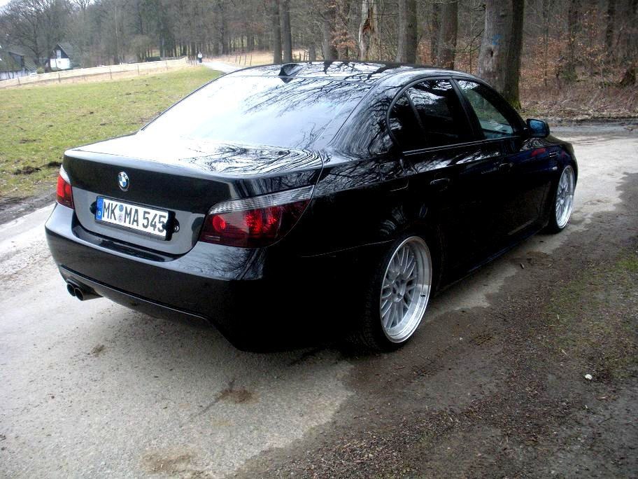 bmw 545i m paket mit bbs le mans 20 u m5 felgen 5er bmw. Black Bedroom Furniture Sets. Home Design Ideas