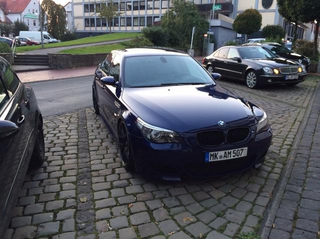 E60 M5 BBS Rs2  interlagosblau, Gewinde, Hartge - 5er BMW - E60 / E61
