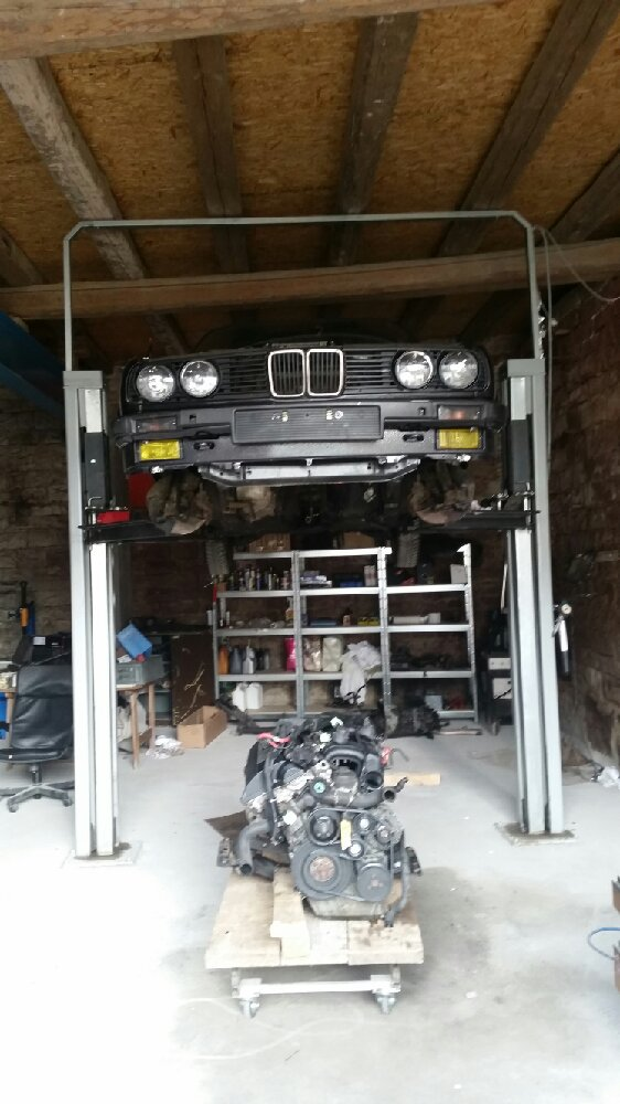 Das M52 Projekt...... - 3er BMW - E30