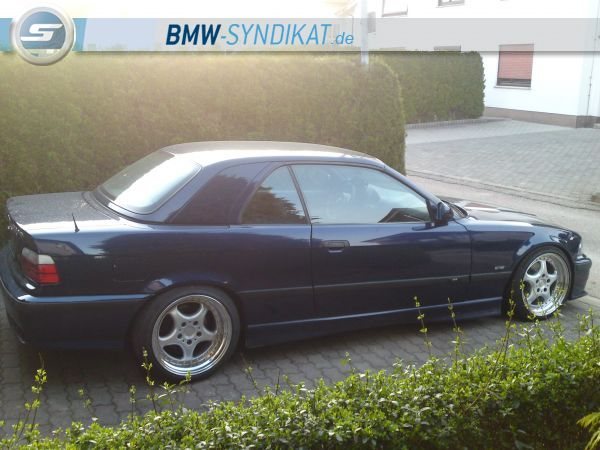 328i Cabrio on Hartge Wheels - 3er BMW - E36