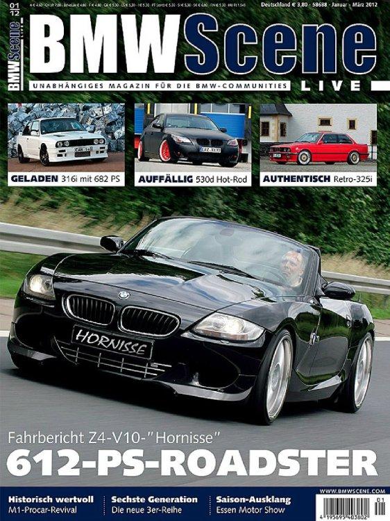 Die Hornisse mit V10 5,8L - 612PS ! - neue Bilder - BMW Z1, Z3, Z4, Z8