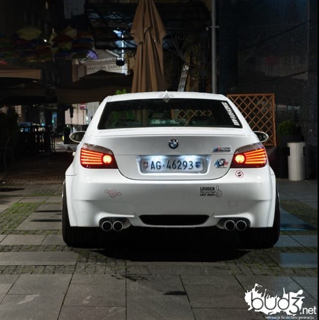 Tief Breit Sehr Laut M5 Facelift 5er Bmw E60 E61 Quot M5 Quot Tuning Fotos Bilder
