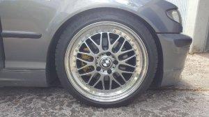 Rial Daytona Race Felge in 8.5x18 ET 40 mit Michelin Pilot Sport 3 Reifen in 225/40/18 montiert vorn mit 5 mm Spurplatten Hier auf einem 3er BMW E46 320i (Touring) Details zum Fahrzeug / Besitzer