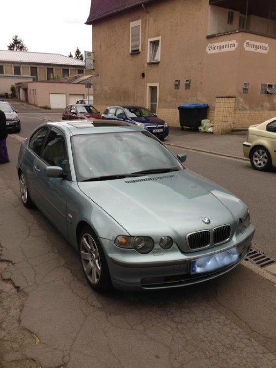 Graugrüner e46 325ti Compact aus dem Saarland - 3er BMW - E46