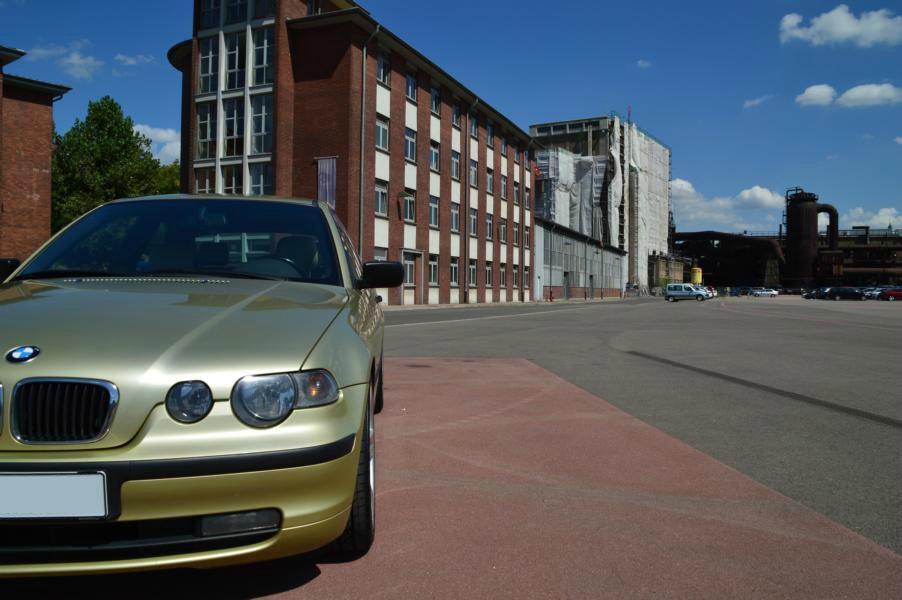 Pistaziengrüner e46 316ti Compact aus dem Saarland - 3er BMW - E46