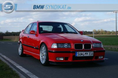 318is Class II Hellrot - 3er BMW - E36