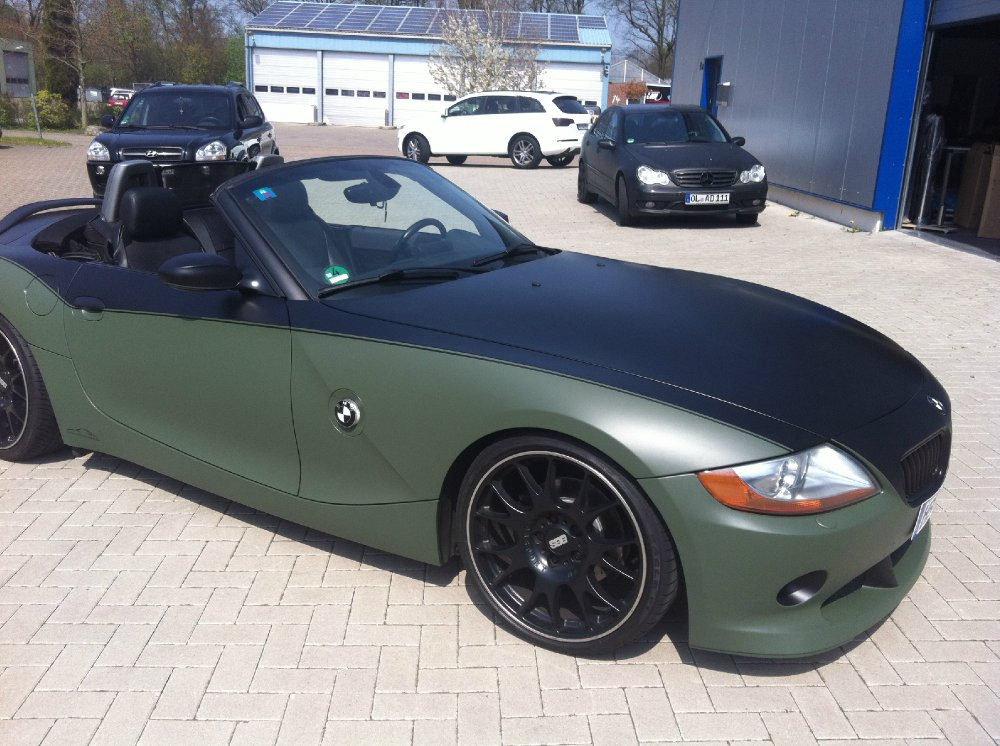 z4 3 0 aero bmw z1 z3 z4 z8 z4 roadster tuning fotos bilder stories. Black Bedroom Furniture Sets. Home Design Ideas
