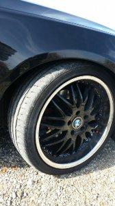 royal wheels GT20 8.5Jx19H2 Felge in 8.5x19 ET 20 mit Dunlop Sport Maxx Reifen in 245/35/19 montiert vorn Hier auf einem 5er BMW E61 525d (Touring) Details zum Fahrzeug / Besitzer