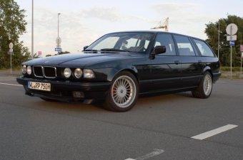 Alpina Classic Felge in 8.5x17 ET 12 mit Hankook K107 Reifen in 235/45/17 montiert vorn Hier auf einem 7er BMW E32 750i (Limousine) Details zum Fahrzeug / Besitzer