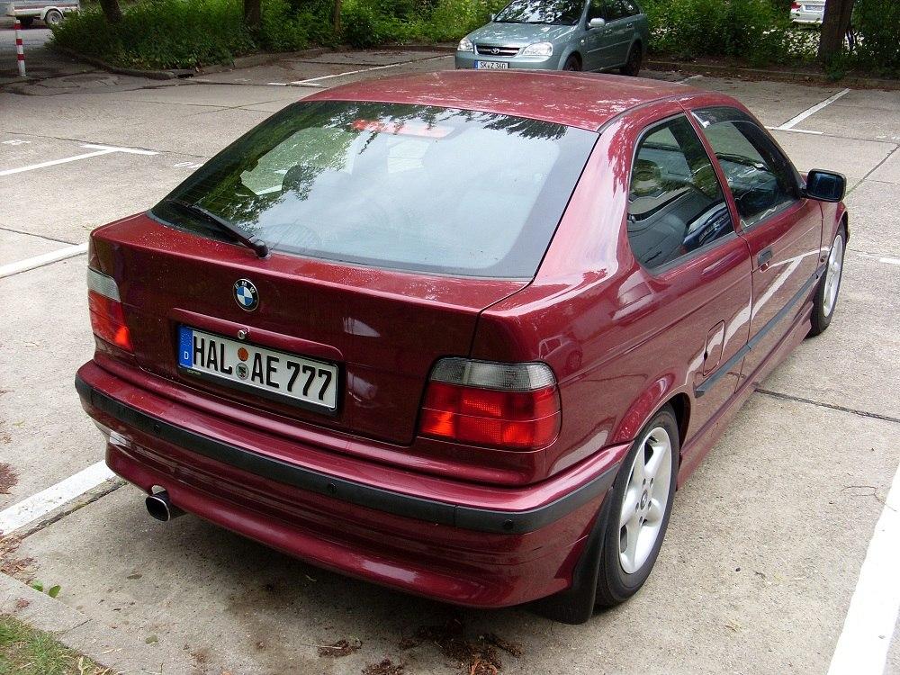 """""""Dead End"""" E36 Compact 316i - 3er BMW - E36"""