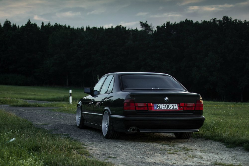 BMW 535i E34 auf Gewinde und Alpinas - 5er BMW - E34