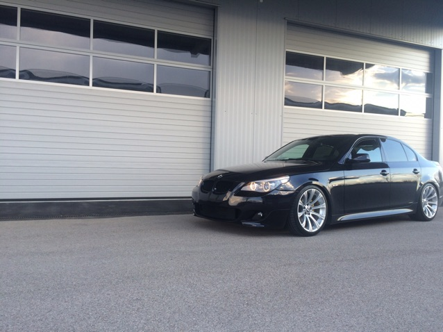 "BMW e60 Breyton LS 20"" and m166 - 5er BMW - E60 / E61"