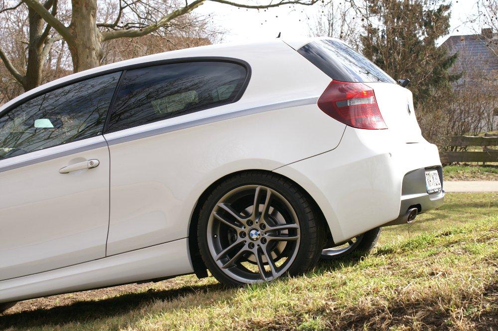 Mein Traum in Weiß :-) - 1er BMW - E81 / E82 / E87 / E88