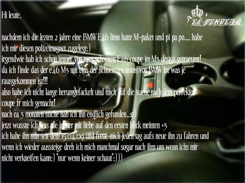 E46 coupe ///M3 umbau - 3er BMW - E46